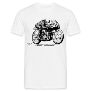 TT Legends Geoff Duke - Men's T-Shirt