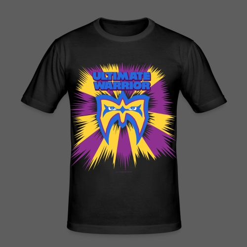 Ultimate Warrior Retro Shirt - Men's Slim Fit T-Shirt