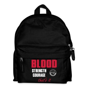 BloodStrengthCourage - Kinder Rucksack