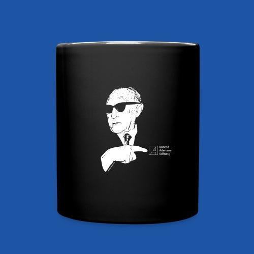 Kaffeebecher schwarz - Tasse einfarbig