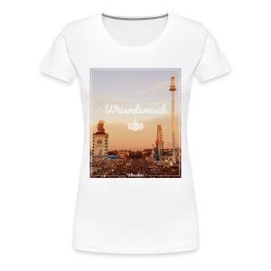 Wiesndamisch T-Shirt Dirndl - Frauen Premium T-Shirt