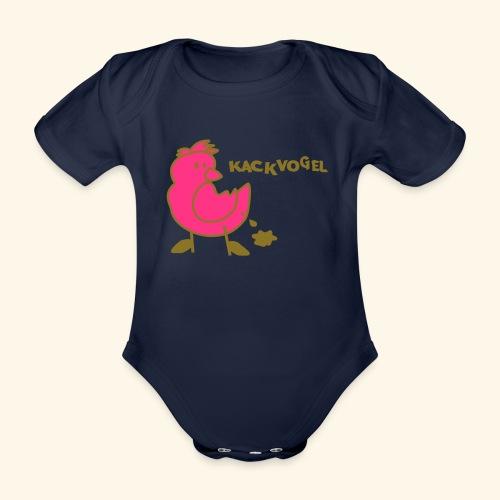 Kackvogel - Organic Short-sleeved Baby Bodysuit