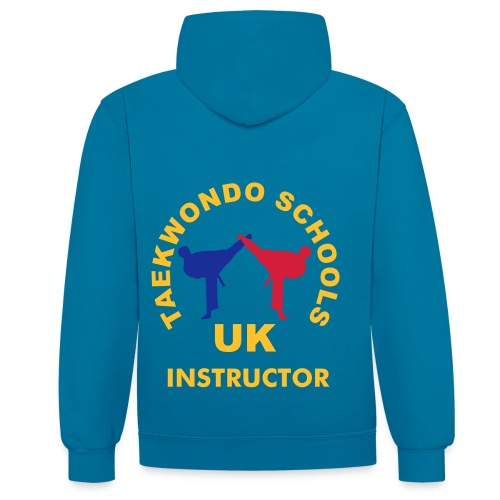 Adult Hoodie - Contrast - Instructor - Contrast Colour Hoodie