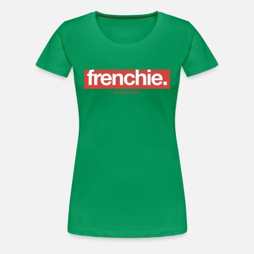 Frenchie Banner - Frauen Premium T-Shirt