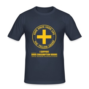 Men's T-shirt - DCRs Save Lives - Tee shirt près du corps Homme