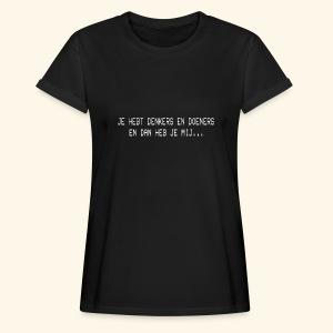 Denkers en doeners - Women's Oversize T-Shirt