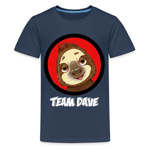 Team Dave Teenager Shirt - Teenager Premium T-Shirt