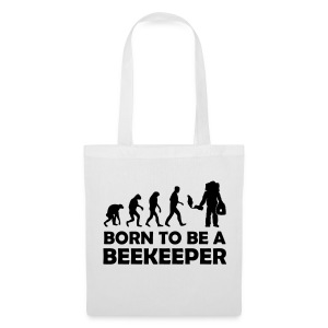 Born to be a beekeeper - Stoffbeutel - Stoffbeutel
