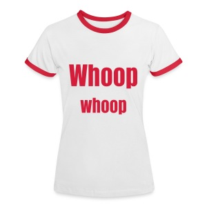 whoop - Women's Ringer T-Shirt