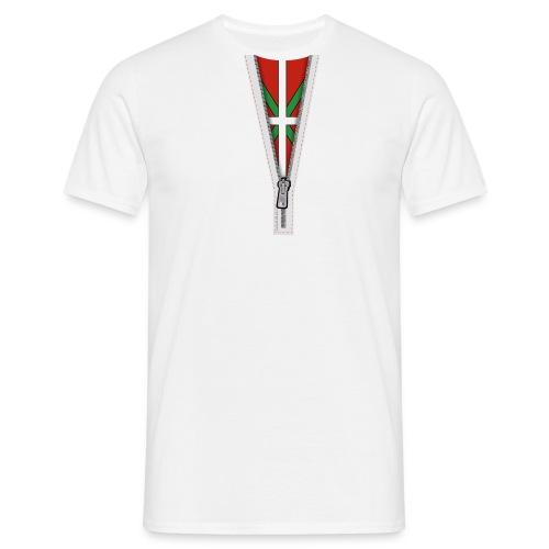 zip basque - T-shirt Homme