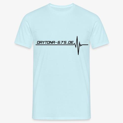 Shirt Heartbeat Daytona-675.de - Männer T-Shirt