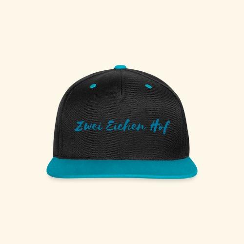 Cap Baumwolle unisize - Kontrast Snapback Cap