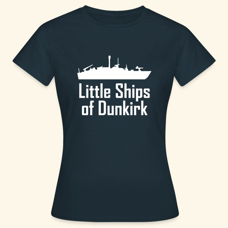 Little Ships of Dunkirk - T-shirt Femme