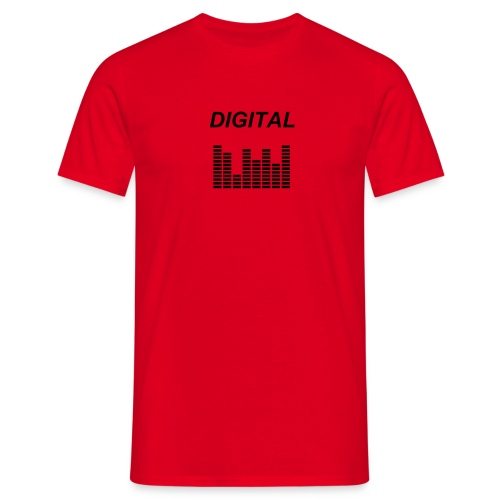 Diglital Rouge - T-shirt Homme