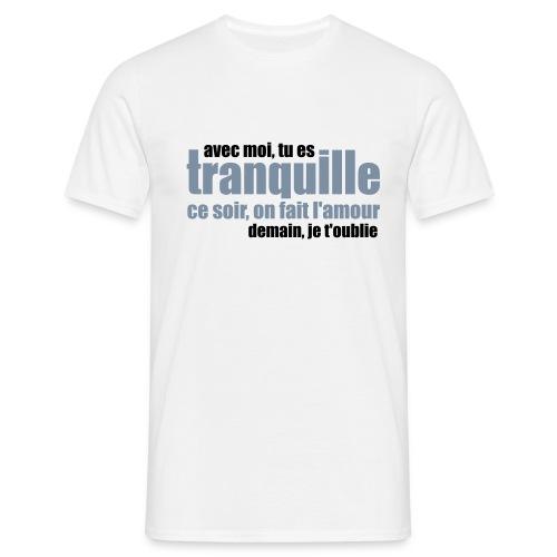 demain je t'oublie - T-shirt Homme