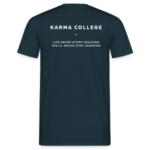 KARMA COLLEGE - Love each other.  - Men's T-Shirt