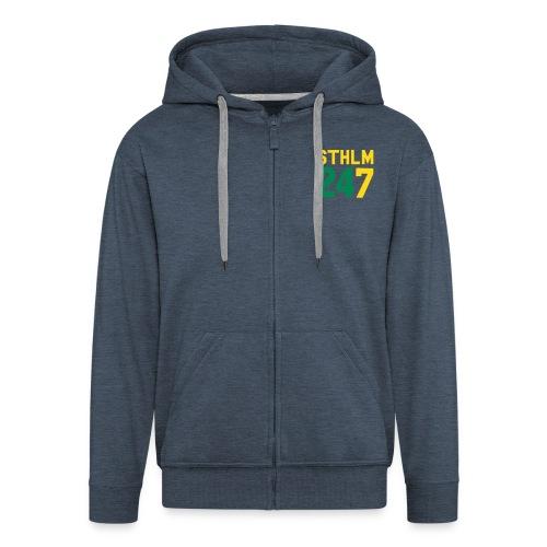 STK 24/7 Zip Hood - Premium-Luvjacka herr