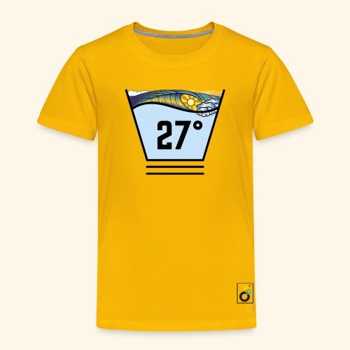 Surf temperature 27° - T-Shirt Kids - Kinder Premium T-Shirt