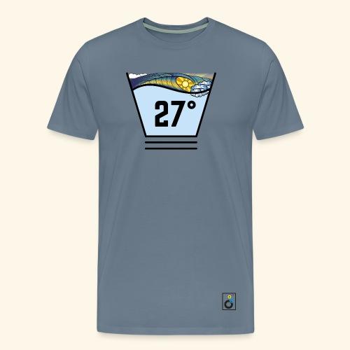 Surf temperature 27° - T-Shirt Fox - Männer Premium T-Shirt