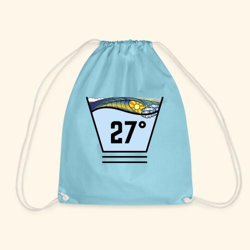 Surf temperature 27° - Backbag - Turnbeutel