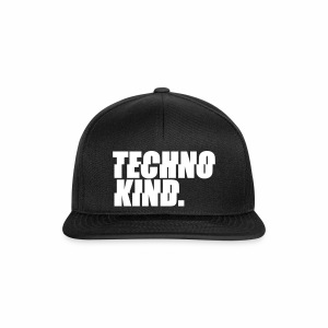 Techno Kind - Cap - Snapback Cap