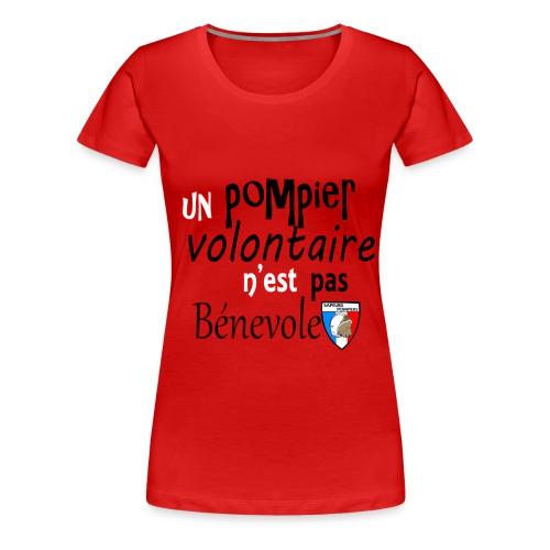 F/pompier! - T-shirt Premium Femme