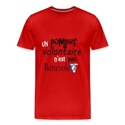 H/pompier! - T-shirt Premium Homme