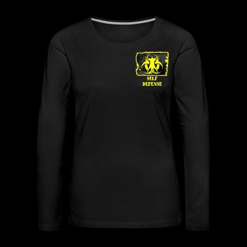 T-Shirt Femme Entrainement Self-Défense - T-shirt manches longues Premium Femme