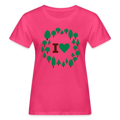 ilovetrees - Ekologisk T-shirt dam