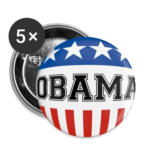 OBAMA Badges - Buttons/Badges lille, 25 mm (5-pack)