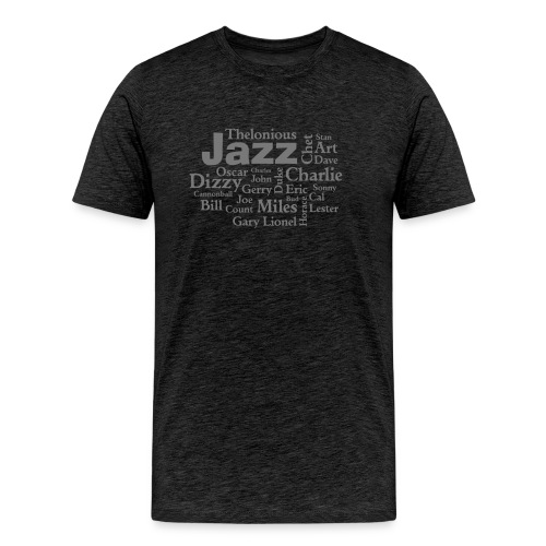 Jazz Greats - Männer Premium T-Shirt