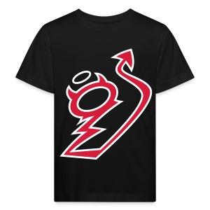 Kleiner Bengel - Logo rot organic - Kinder Bio-T-Shirt