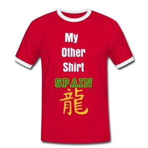 Spain's Other Shirt - Men's Ringer Shirt