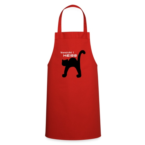 Katze - Kochschürze
