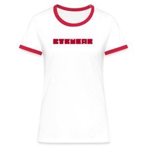 T-Shirt CTKube Femme - T-shirt contrasté Femme
