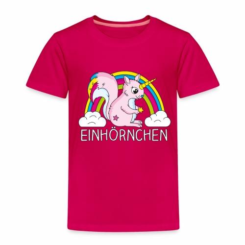 T-Shirt Einhörchen - Kinder Premium T-Shirt