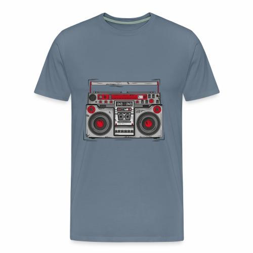 T-Shirt Ghettoblaster - Männer Premium T-Shirt