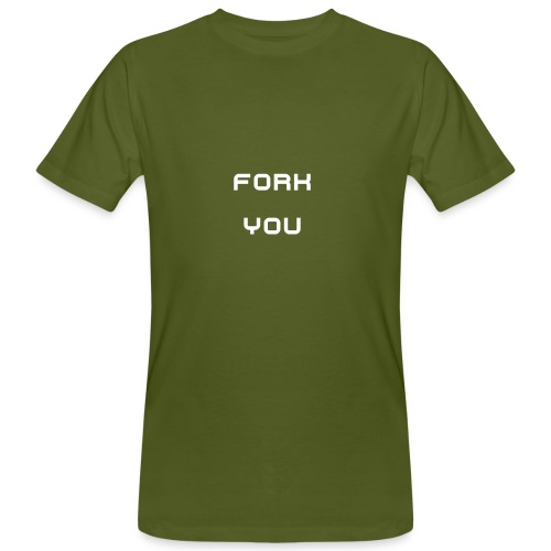 Fork you - T-shirt bio Homme