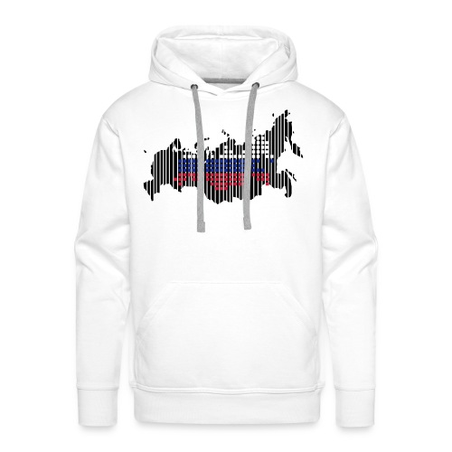 russia - Mannen Premium hoodie