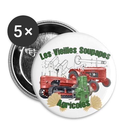 Badge - Lot de 5 petits badges (25 mm)