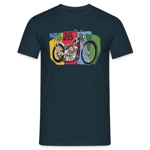 vintage chopper - Camiseta hombre