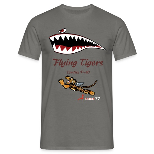 vintage logo - Camiseta hombre