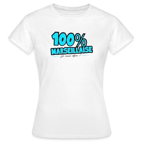 T-shirt Femme - T-shirt – Je crains dégun / 100% Marseille  – www.leboncoindutshirt.com