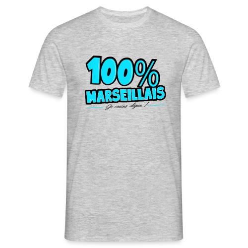 T-shirt Homme - T-shirt – Je crains dégun / 100% Marseille  – www.leboncoindutshirt.com