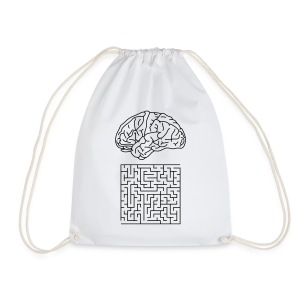 Labyrinth, Cotton Gym Bag - Turnbeutel