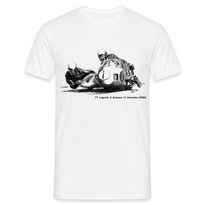 TT Legends S. Schauzu & H. Schneider - Men's T-Shirt