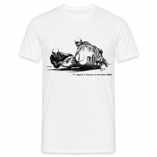 TT Legends S. Schauzu & H. Schneider - Men's T-Shirt