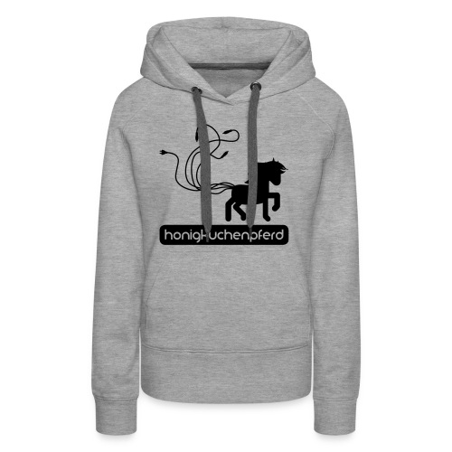 HKP Kaputze Girls Grey/Black - Frauen Premium Hoodie