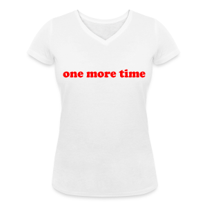 One More Time - Girl - Col V - T-shirt col V Femme