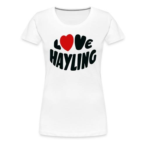 Love Hayling - Women's Premium T-Shirt